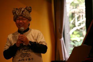 白石准ツシマヤマネコ帽子でトーク1