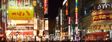 歌舞伎町の喧騒