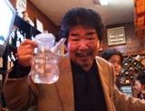 徳原清文さん乾杯