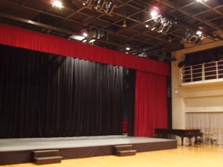 昭和音楽大学北校舎第1スタジオ