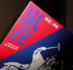 「嵐花」のパンフレット