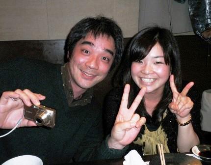 大島純と名田綾子