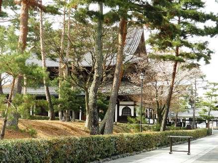 相國寺の境内