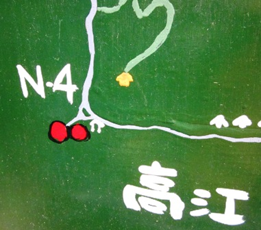 N-4の地図