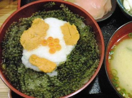 元祖海ぶどう丼