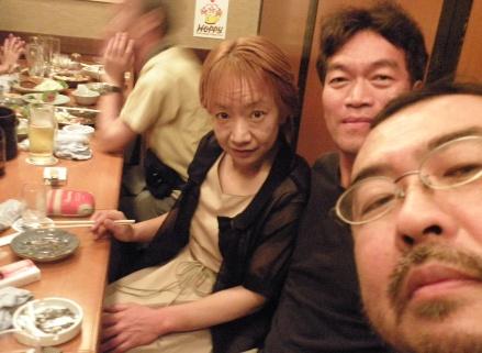 越智絵理花さんと畠山文男さん