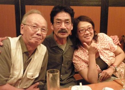 高木憲作さんと伊藤勉さんと深水みゆきさん