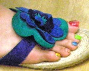 色とりどりの爪