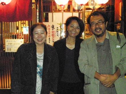 今井恒子さんと一緒に記念撮影