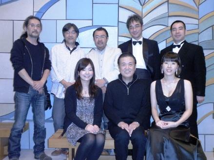 東京奏楽舎の集合写真