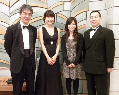 大島純と菅野恵子と名田綾子と桃原健一