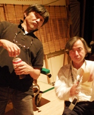 楠定憲氏と新井吉一氏