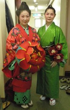 宇夫方路と佐藤美智子さん