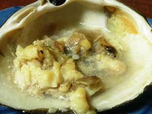 ホッキ貝の肝