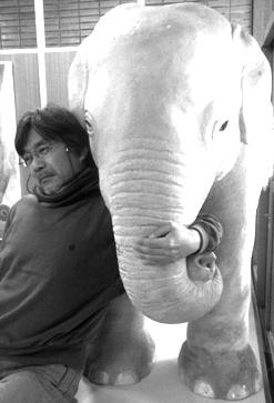 楠定憲と白い象