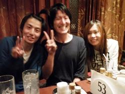オフィスプロジェクトMの和田くんと小山くんと横澤さん