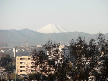 12月4日の富士山