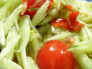 胡瓜のサラダ