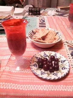 食べる前の葡萄