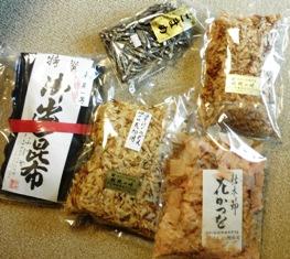 京都の乾物屋さんのお土産