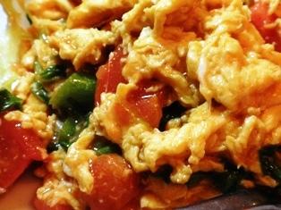 卵とトマト、中国の家庭料理