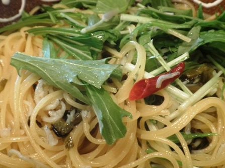 高菜のぺペロンチーノ