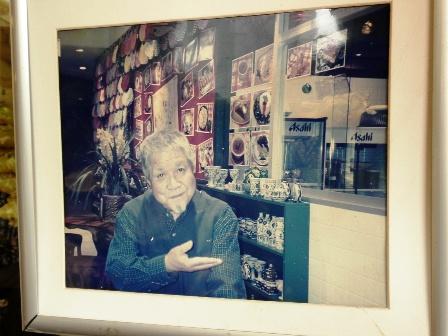 梅津栄さんのお写真